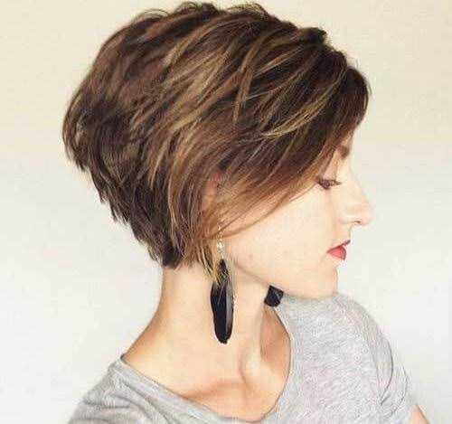 تسريحات شعر قصيرة