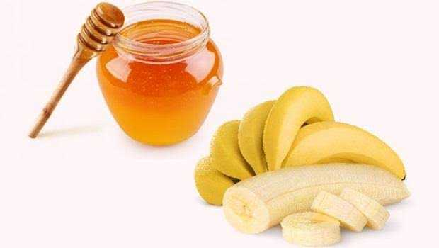 ماسك الموز والعسل