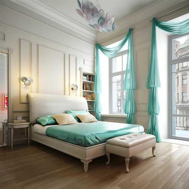 ستائر غرف نوم